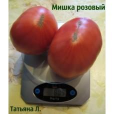 Томат Мишка косолапый розовый. (10 шт. семян)
